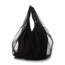 バルーン チュール バッグ (BLACK)