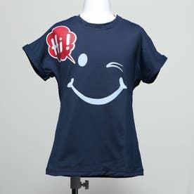 キッズ ハイ Tシャツ (NAVY)
