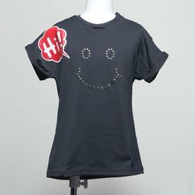キッズ ハイ Tシャツ (BLACK)