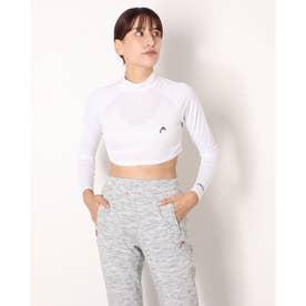 UVカットハーフアンダーシャツ (ホワイト)