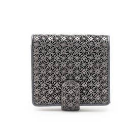 GIRASOLE(ジラソーレ)薄型二つ折り財布 (ブラック)