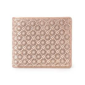 GIRASOLE(ジラソーレ)二つ折り財布 (ピンク)