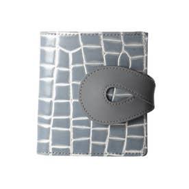 PINO(ピノ)薄型二つ折り財布 (グレー)
