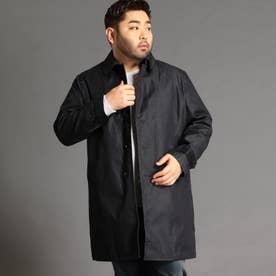 <大きいサイズ>ステンカラーコート (49ブラック)