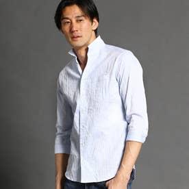 タックジャカードシャツ (64サックス)