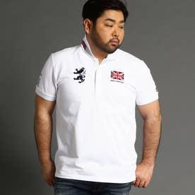 <大きいサイズ>Admiral(アドミラル)別注ベーシックポロシャツ (09ホワイト)
