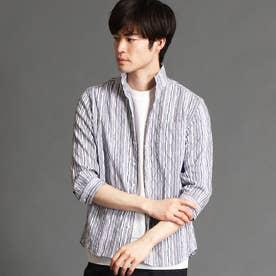 タックジャカード7分袖シャツ (91その他2)