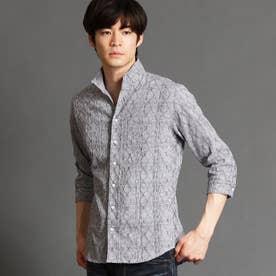 タックジャカード7分袖シャツ (92その他3)