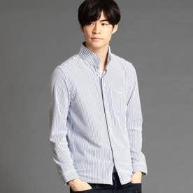 カノコストライプカットシャツ (09ホワイト)