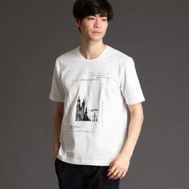 フォトプリントTシャツ (09ホワイト)