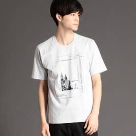 フォトプリントTシャツ (19ライトグレー)