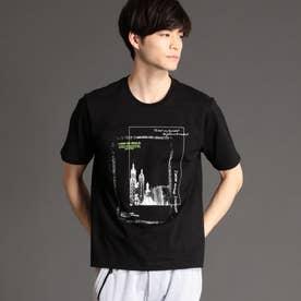 フォトプリントTシャツ (49ブラック)
