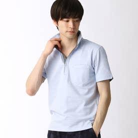 スキッパーポロシャツ (64サックス)