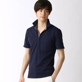スキッパーポロシャツ (67ネイビー)
