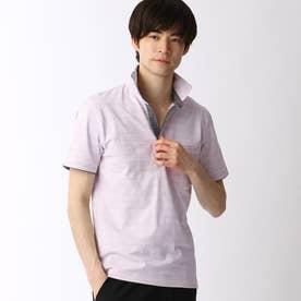 スキッパーポロシャツ (88ラベンダー)