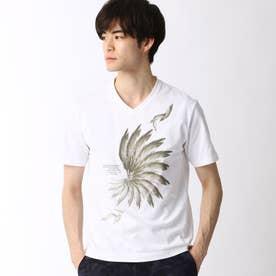フェザープリントTシャツ (91その他2)