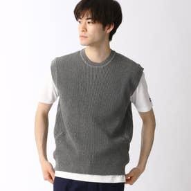 ニットベスト&Tシャツセット (29グレー)