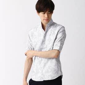 刺し子風ジャカード半袖シャツ (91その他2)