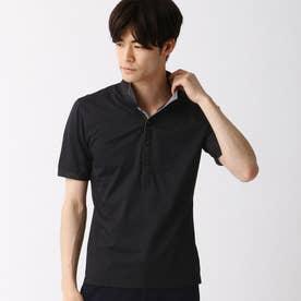 イタリアンカラ-ポロシャツ (49ブラック)