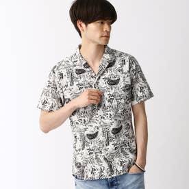 オープンカラープリントシャツ (91その他2)
