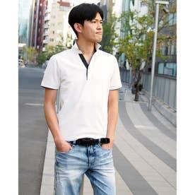 スキッパ-ポロシャツ (09ホワイト)