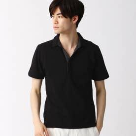 スキッパ-ポロシャツ (49ブラック)