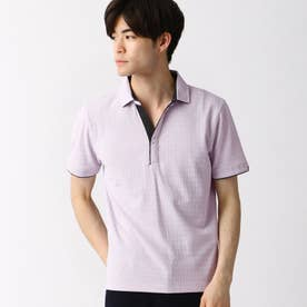スキッパ-ポロシャツ (88ラベンダー)