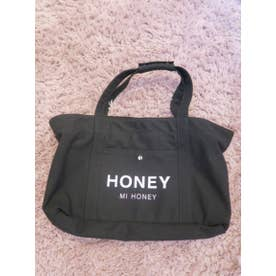 logo dog bag (black)