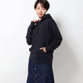 blacklogo hoodie/ブラックロゴフーディー (navy)
