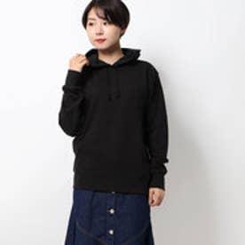 blacklogo hoodie/ブラックロゴフーディー (black)