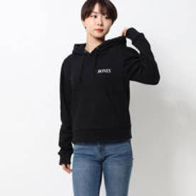 puffsleeve hoodie/パフスリーブフーディー (black)