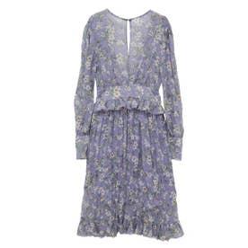 flower one-piece (lavender)
