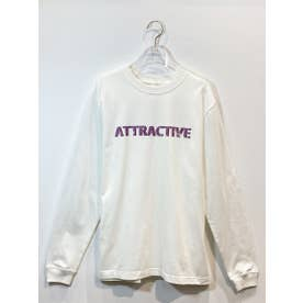 『ATTRACTIVE』longT-shirt (white)