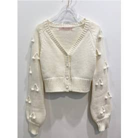 cherry cardigan (offwhite)