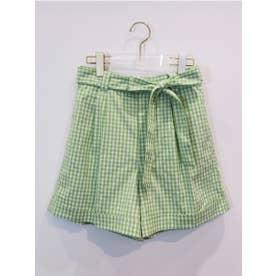 ginghamcheck shortpants (lightgreen)