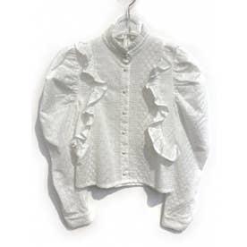 lace cotton blouse (white)