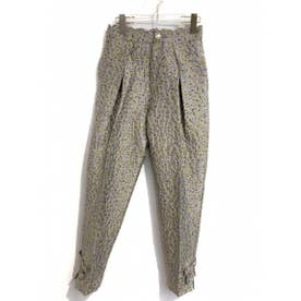 flower jacquard pants (lightgreen)
