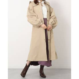 sailor tulle trench coat (beige)