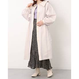sailor tulle trench coat (offwhite)