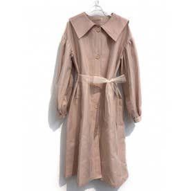 sailor tulle trench coat (pink)
