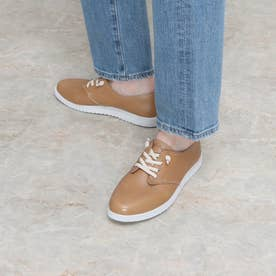 THE EVERYDAY LACEUP (TAN LEATHER)