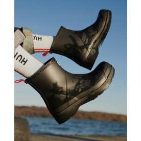 HUNTER/正規取扱店 防水 レインブーツ ORIGINAL PLAY BOOT SHORT プレイブーツ WFS2020RMA ブラック