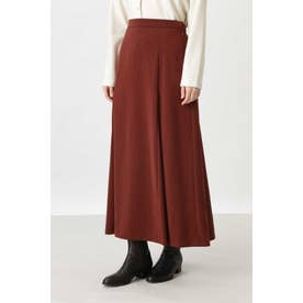 ◆起毛サテンスカート ボルドー