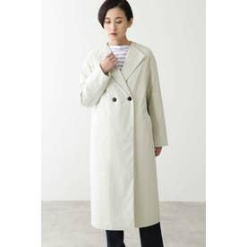 ◆撥水スパンライクタイプライターコート Lグレー