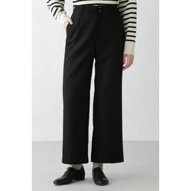 ◆≪Japan Couture≫サキソニーパンツ ブラック