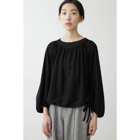 ◆セルロース綿ツイルプルオーバー ブラック