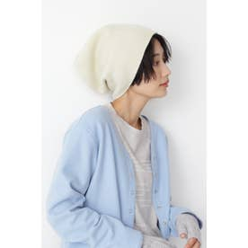◆pqnqニット帽 ホワイト