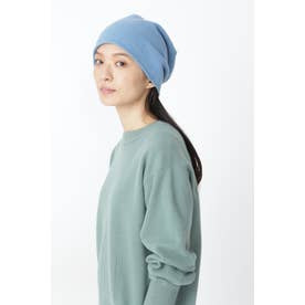◆pqnqニット帽 ブルー
