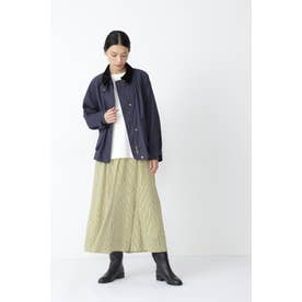 ◆≪arrive 5e≫ストライププリントスカート イエローストライプ3