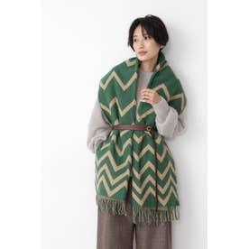 ◆GLEN PRINCE幾何学ストール Green